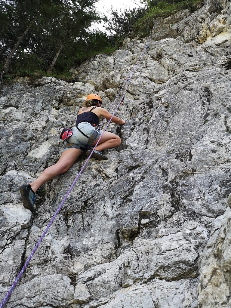Rock Climbing in Austria